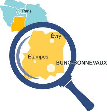 Carte emplacement Buno Bonnevaux