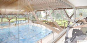 Futur centre aquatique : bassin